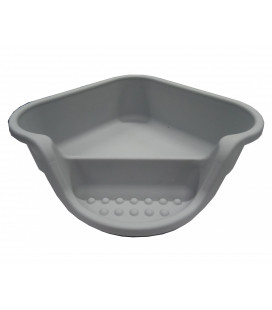 Cat Litter Tray Triangle 46x46x14cm