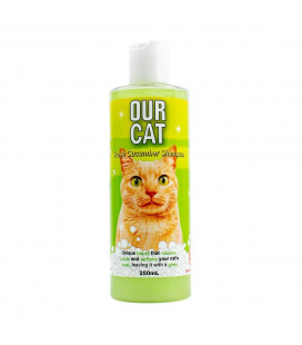 Our Cat Shampoo Fresh Cucumber 250ml