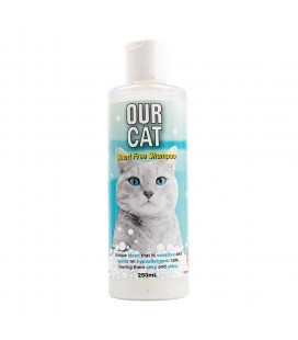 Our Cat Shampoo Scent Free 250ml