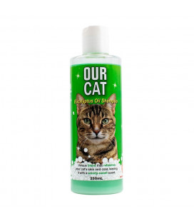 Our Cat Shampoo Eucalyptus Oil 250ml
