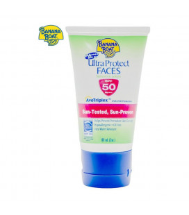 Banana Boat Ultraprotect Faces Spf50 (Green) - 60ml