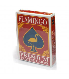 Flamingo Playing Cards Red