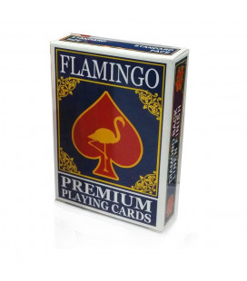 Flamingo Playing Cards Blue