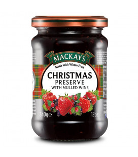 Mackays (340g) Christmas Preserve with Mulled Wine Spread