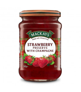 Mackays (340g) Strawberry Preserve with Champagne Spread