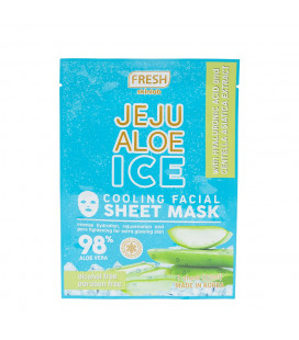 Fresh Skinlab Jeju Aloe Ice Cooling Facial Sheet Mask