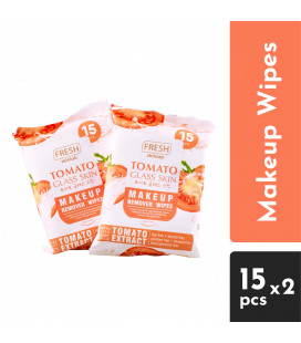 Fresh Tomato Glass Skin Makeup Remover Wipes