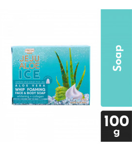 Fresh Jeju Aloe Ice Whip Foaming Face and Body Soap