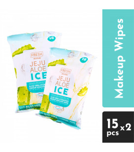 Fresh Jeju Aloe Ice Makeup Remover Wipes