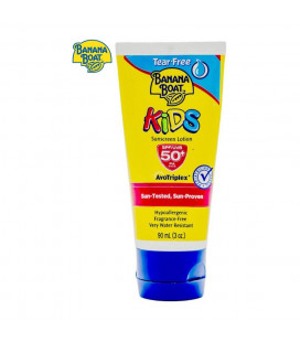 Banana Boat Kids Sunscreen Lotion Spf50 (Yellow) - 90ml