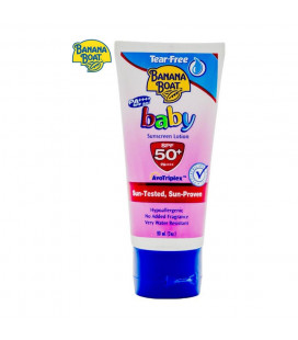 Banana Boat Baby Lotion Spf50 (Pink) - 90ml