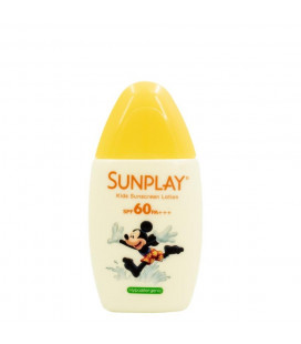 Sunplay 35ml Kids Sunscreen Lotion SPF 60 PA+++ Gentle Outdoor Sunscreen (Yellow)