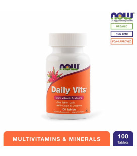 NOW Foods Daily Vits Tablets Bottle of 100