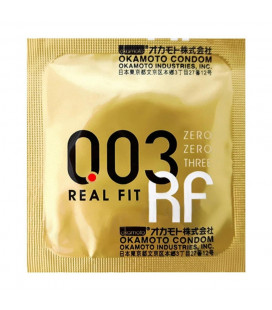 Okamoto 0.03 1 box of 3s Peak Performance Thinnest Com with Better Sex Intimacy Love Sensitive Feeling (1 Box)