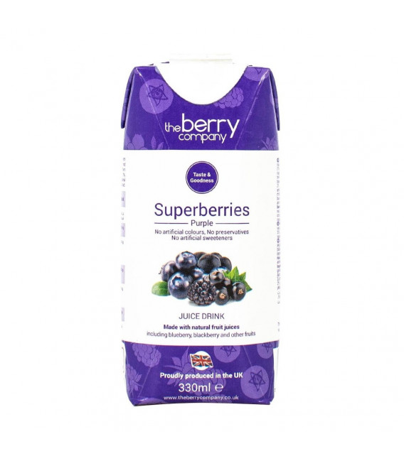 The Berry Company Superberry Purple Juice Juice 330 mL