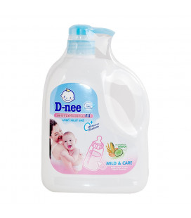 Dnee Mild & Care Bottle and Nipple Liquid Cleanser (900ml) Jug