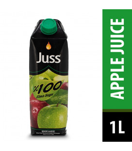 Juss 100% Apple Juice 1L