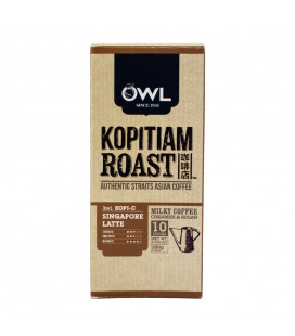 OWL Kopitiam Roast Kopi-C 3-in-1 Coffee Box (10 sticks x 20g)