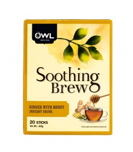 OWL Ginger Tea with Honey (20 sticks x 18g)