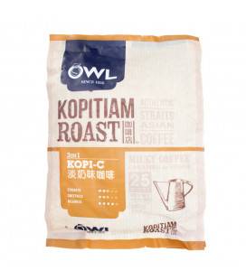 OWL Kopitiam Roast Kopi-C 3-in-1 Coffee (25 sticks x 20g)