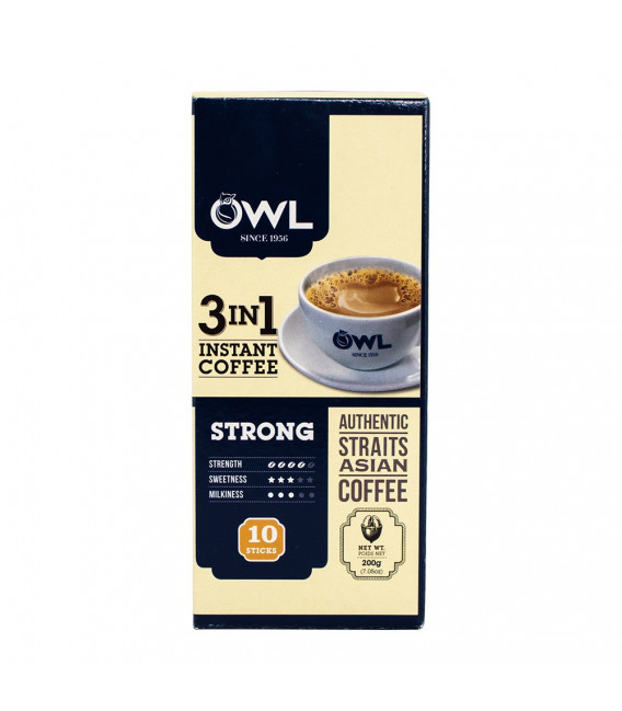 OWL Strong Coffee Box (10 sticks x 20g) 3-in-1