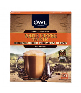 OWL 3-in-1 White Coffee Tarik Orig FREEZE DRIED (10 sticks x 36g)