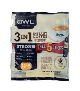 OWL Strong Coffee (35 sticks x 20g) 3-in-1