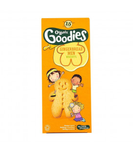 Organix Gingerbread Men Biscuits (135G)