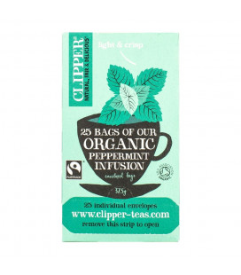 Clipper Peppermint Tea 25 Bags (40G)