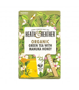 Heath & Heather Green Tea With Manuka Honey (40G)