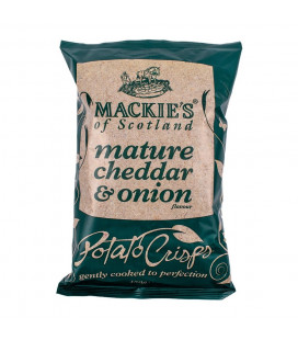Mackies Of Scotland Mature Cheddar And Onion Snacks (150G)