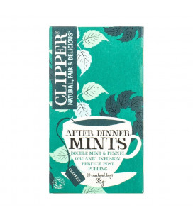Clipper After Dinner Mints 20 Bags (40G)