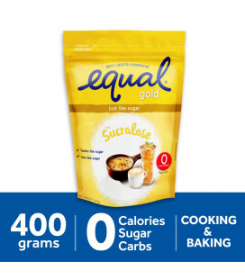 Equal Gold Sugarly Zero Calorie Sweetener 400g Pack
