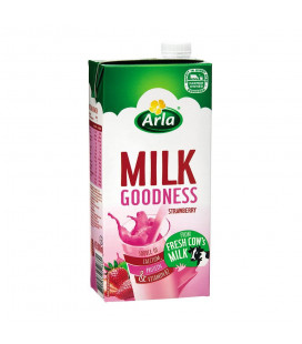 Arla Milk Goodness Strawberry 1L