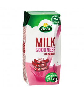 Arla Milk Goodness Strawberry 200ml