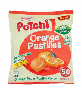 Potchi Orange Pastille