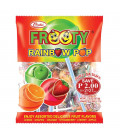 Frooty Rainbow Pop Lollipop