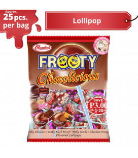 Frooty Chocolicious Lollipop