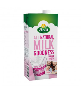 Arla Milk Goodness Skimmed 1L