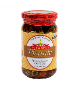 Picante Spanish Sardines in Olive Oil. Hot & Spicy 230g