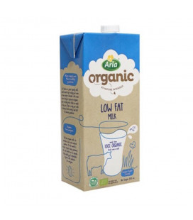Arla Organic Low Fat Milk 1L
