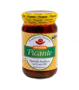 Picante Spanish Sardines in corn oil. Portuguese 230g