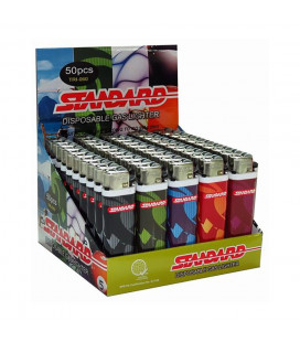 B1T1 Standard Disposable Lighter Tribal TRI-060 (50 pieces)