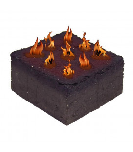 BBQ King Brick Charcoal (4 bricks/box)